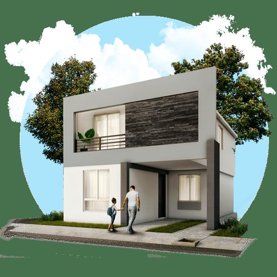 Casa en Módena Residencial modelo Castilla IV-7